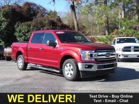Pre-Owned 2018 Ford F-150 XLT 2WD SuperCrew 5.5' Box Rear Wheel Drive Trucks