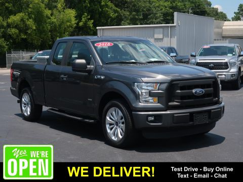 Pre-Owned 2016 Ford F-150 2WD SuperCab 145 XL Rear Wheel Drive Trucks