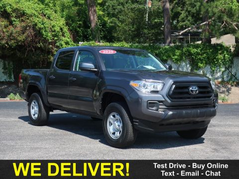 Pre-Owned 2020 Toyota Tacoma SR Double Cab 5' Bed V6 AT (Natl) Four Wheel Drive Trucks