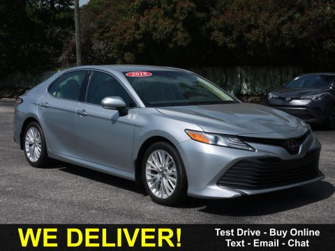 Pre-Owned 2018 Toyota Camry XLE Auto (Natl) Front Wheel Drive Cars