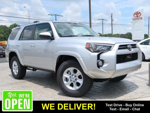 New 2020 Toyota 4Runner SR5 RWD SUVs